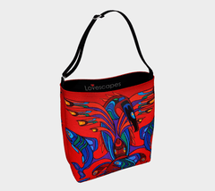 Lovescapes Gym Bag (Totemic Guardians of the Great Return) - Lovescapes Art
