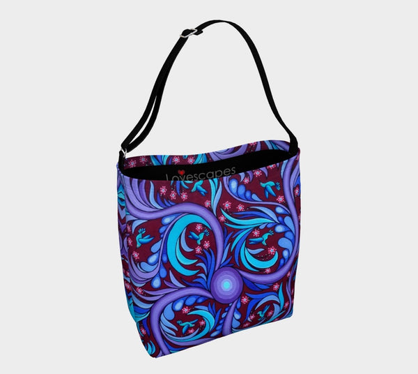Lovescapes Gym Bag (Wirl-Wind Sonnet) - Lovescapes Art