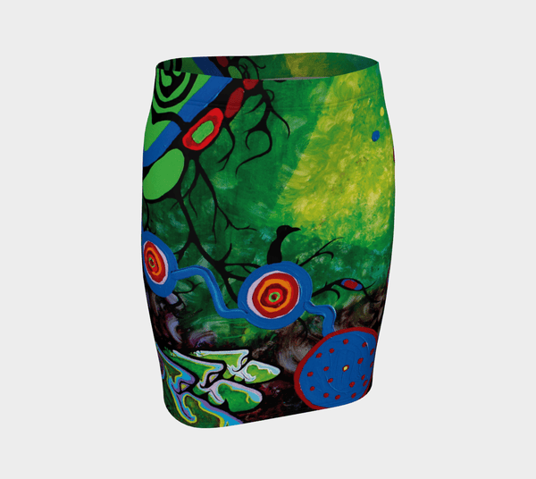 Lovescapes Fitted Skirt (Sounding 02) - Lovescapes Art
