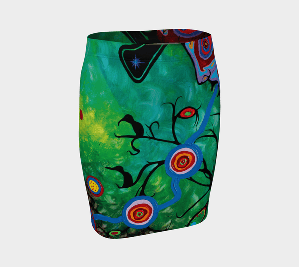 Lovescapes Fitted Skirt (Sounding 01) - Lovescapes Art