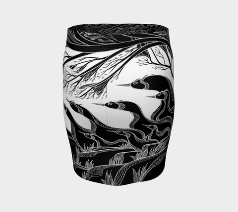 Lovescapes Fitted Skirt (God's Country 01) - Lovescapes Art