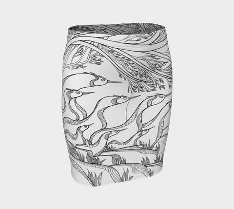 Lovescapes Fitted Skirt (God's Country) 02 - Lovescapes Art
