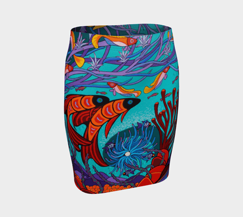 Lovescapes Fitted Skirt (Soul Travelers 01) - Lovescapes Art