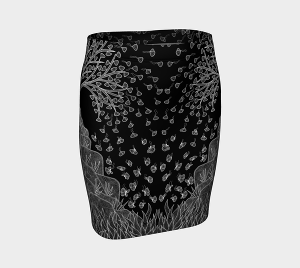 Lovescapes Fitted Skirt (Over & Under 01) - Lovescapes Art