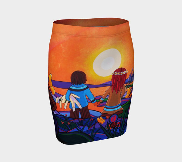 Lovescapes Fitted Skirt (The Promise) - Lovescapes Art