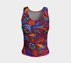 Lovescapes Fitted Tank Top (Harmonic Convergence 01) - Lovescapes Art