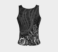 Lovescapes Fitted Tank Top (Oceanland 02)