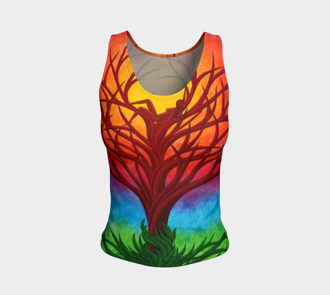 Lovescapes Fitted Tank Top (Imagine)