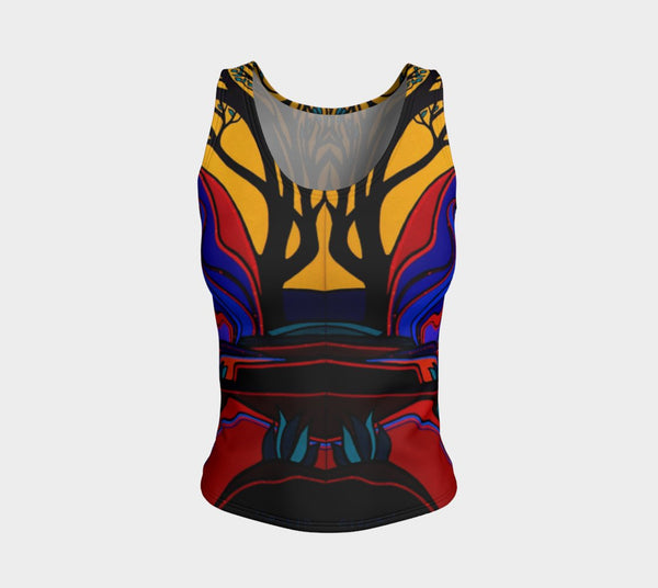 Lovescapes Fitted Tank Top (God's Country 02) - Lovescapes Art