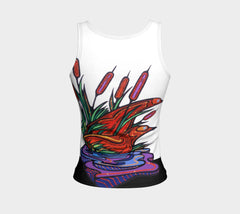 Lovescapes Fitted Tank Top (Twilight Watchers) - Lovescapes Art