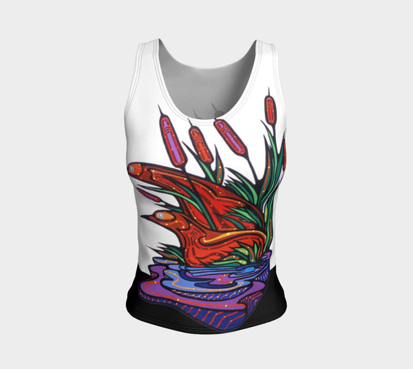 Lovescapes Fitted Tank Top (Twilight Watchers)