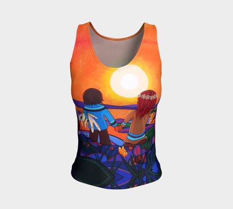 Lovescapes Fitted Tank Top (The Promise) - Lovescapes Art