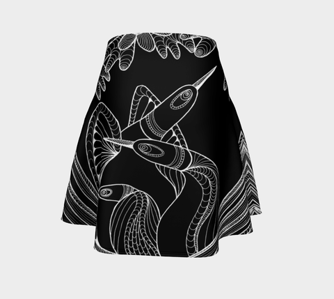 Lovescapes Flare Skirt (Loon Cuddle) - Lovescapes Art