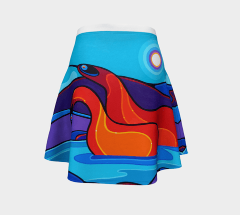 Lovescapes Flare Skirt (Love & Kindness 01) - Lovescapes Art