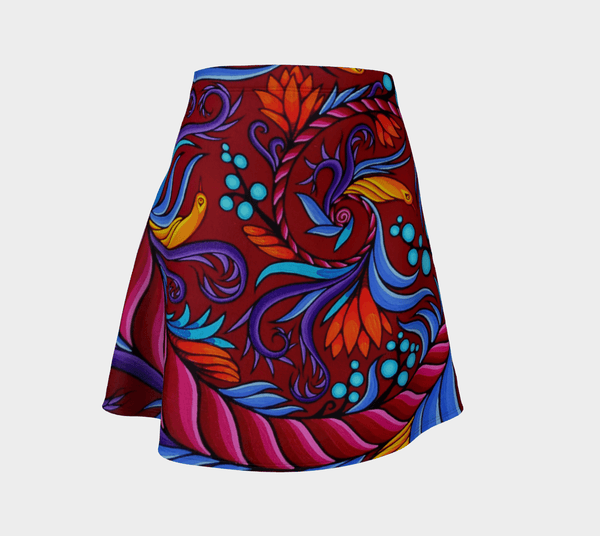 Lovescapes Flare Skirt (Harmonic Convergence 01) - Lovescapes Art