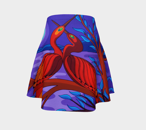 Lovescapes Flared Skirt (Twin Flames) - Lovescapes Art
