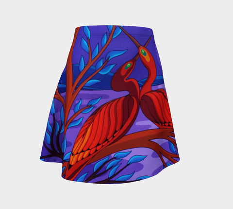 Lovescapes Flared Skirt (Moonriver) - Lovescapes Art