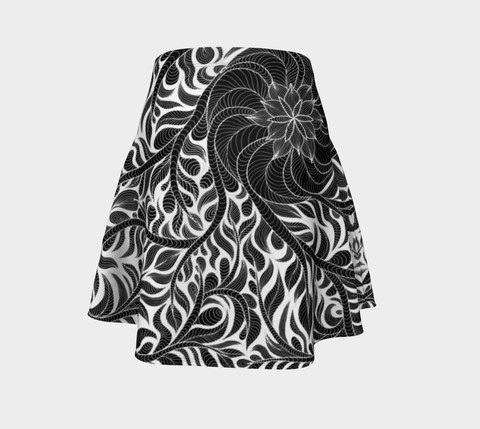 Lovescapes Flare Skirt (Womandala 01) - Lovescapes Art