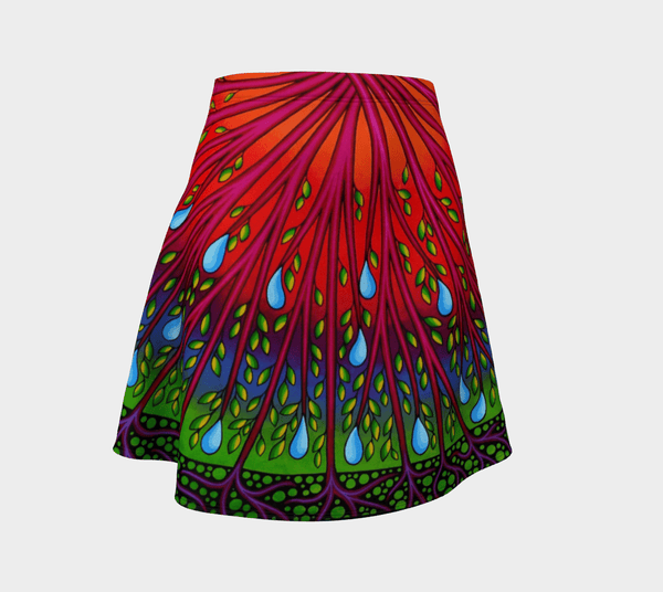 Lovescapes Flare Skirt (Tree of Life 01) - Lovescapes Art
