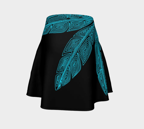 Lovescapes Flare Skirt (Angel Feathers 03) - Lovescapes Art