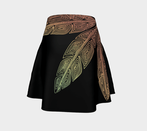 Lovescapes Flare Skirt (Angel Feathers 05)