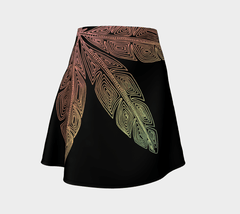 Lovescapes Flare Skirt (Angel Feathers 05) - Lovescapes Art