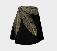 Lovescapes Flare Skirt (Angel Feathers 06) - Lovescapes Art