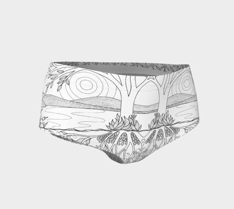 Lovescapes Hot Pants (Over & Under 01) - Lovescapes Art