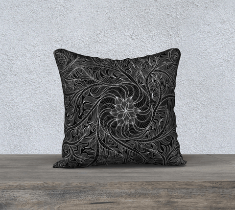 "Lovescapes Pillow 18"" x 18"" (Womandala) - Lovescapes Art"