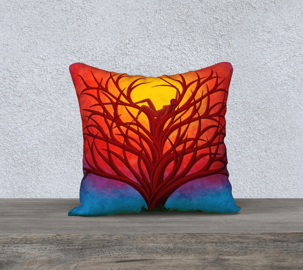 "Lovescapes Pillow 18"" x 18"" (Imagine) - Lovescapes Art"