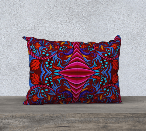 "Lovescapes Pillow 20"" x 14"" (Harmonic Convergence) - Lovescapes Art"