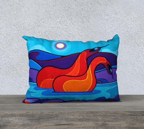"Lovescapes Pillow 20"" x 14"" (Love & Kindness) - Lovescapes Art"