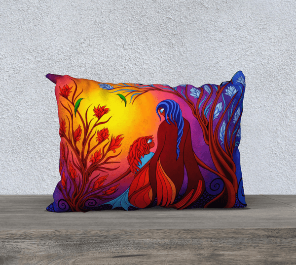 "Lovescapes Pillow 20"" x 14"" (Magica) - Lovescapes Art"