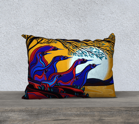 "Lovescapes Pillow 20"" x 14"" (God's Country) - Lovescapes Art"