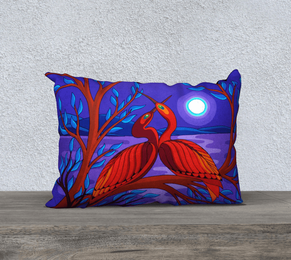 "Lovescapes Pillow 20"" x 14"" (Twin Flames)"