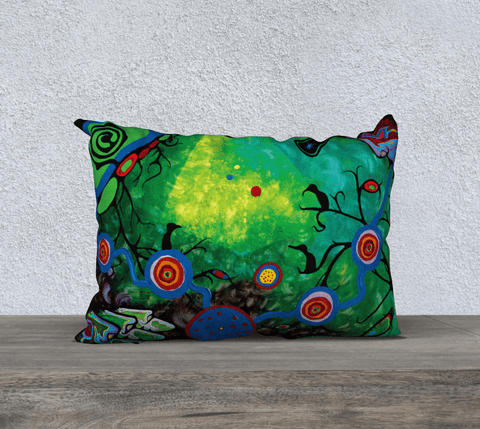 "Lovescapes Pillow 20"" x 14"" (Sounding) - Lovescapes Art"
