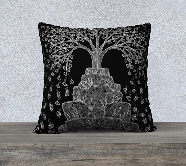 "Lovescapes Pillow 22"" x 22"" (Great Tree) - Lovescapes Art"