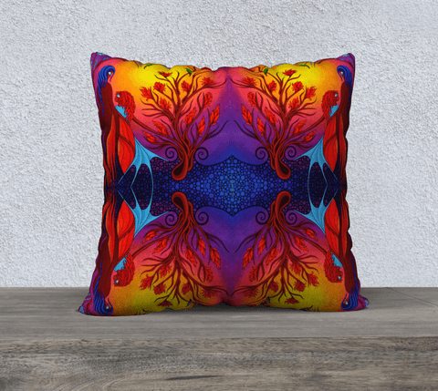 "Lovescapes Pillow 22"" x 22"" (Magica) - Lovescapes Art"