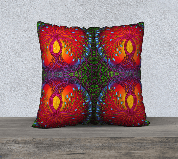 "Lovescapes Pillow 22"" x 22"" (Tree of Life) - Lovescapes Art"
