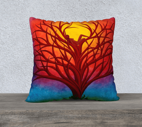 "Lovescapes Pillow 22"" x 22"" (Imagine) - Lovescapes Art"