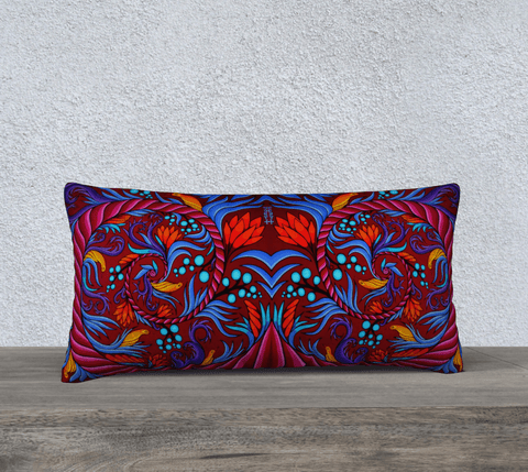 "Lovescapes Pillow 24"" x 12"" (Harmonic Convergence) - Lovescapes Art"