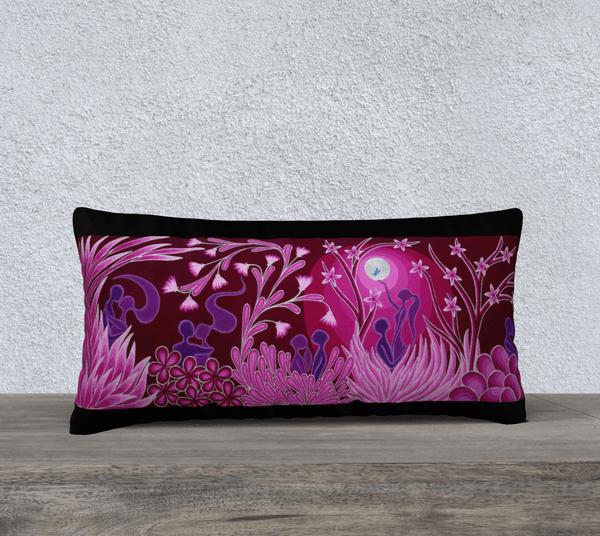"Lovescapes Pillow 24"" x 12"" (Love Garden) - Lovescapes Art"