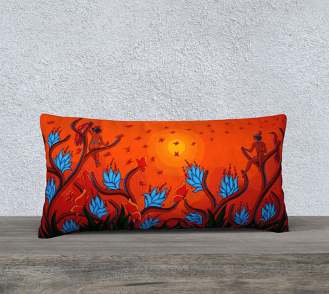"Lovescapes Pillow 24"" x 12"" (Playtime in Dreamland) - Lovescapes Art"