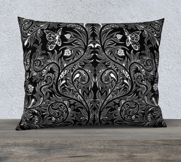 "Lovescapes Pillow 26"" x 20"" ( Butterfly Garden) - Lovescapes Art"
