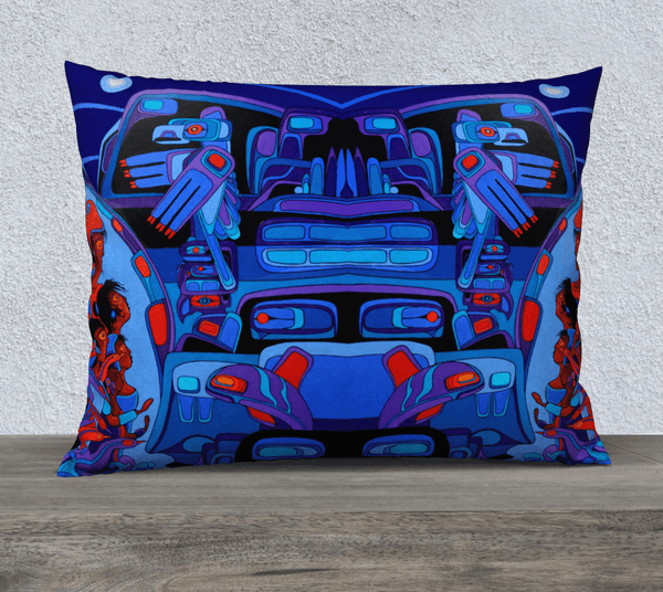 "Lovescapes Pillow 26"" x 20"" (Breath of the Spirit 02) - Lovescapes Art"