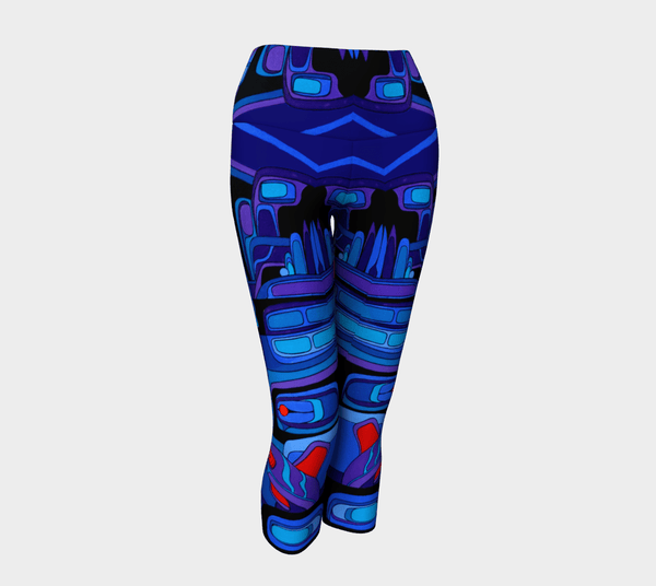 Lovescapes Yoga Capris (Breath of the Spirit 01) - Lovescapes Art