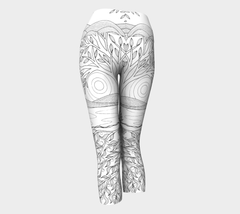 Lovescapes Yoga Capris (Over & Under) - Lovescapes Art
