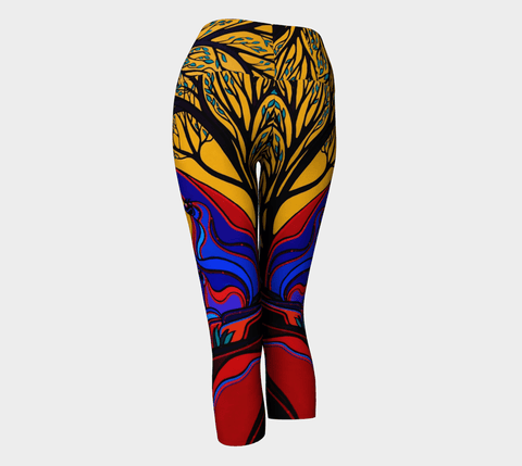 Lovescapes Yoga Capris (God's Country) - Lovescapes Art