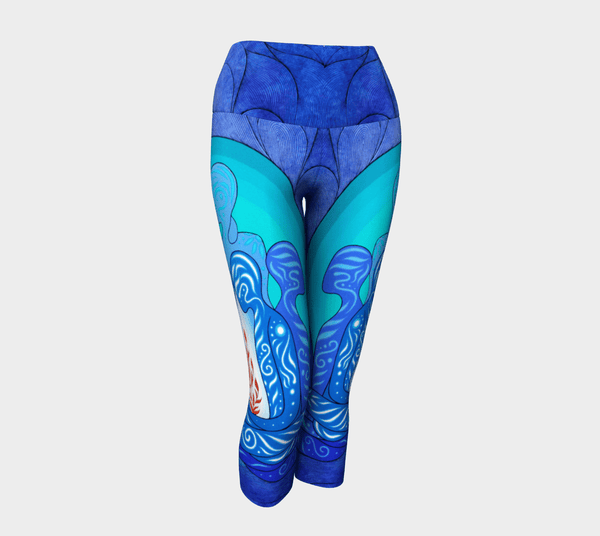 Lovescapes Yoga Capris (Sacred Arcanum) - Lovescapes Art