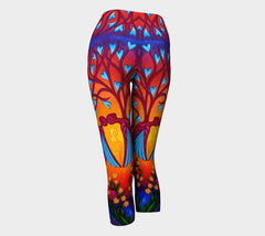 Lovescapes Yoga Capris (Seedling) - Lovescapes Art
